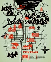 Welcome To Twinpeaks Fine Art Print