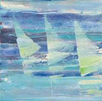 Summer Sail I Framed Print