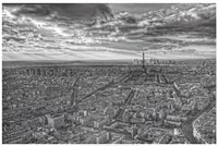 Overlooking Paris Fine Art Print