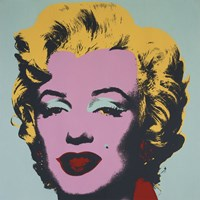 Marilyn, 1967 (on blue ground) Fine Art Print