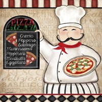 Pizza Chef Fine Art Print