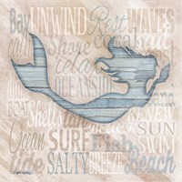 Driftwood Beach Icons I Fine Art Print