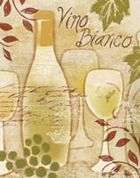 Vino Bianco Framed Print