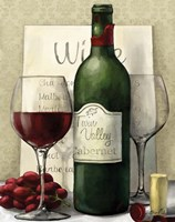 Valley Wine I Fine Art Print