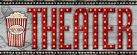 Movie Marquee Panel II (Theater) Fine Art Print
