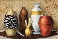 Safari Vase Fine Art Print