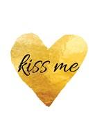 Kiss Me Framed Print