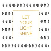 Light Shine (Square) Fine Art Print