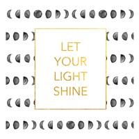 Light Shine (Square) Framed Print
