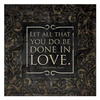 Done In Love Fine Art Print