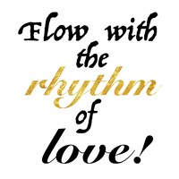 Rhythm of Love Framed Print