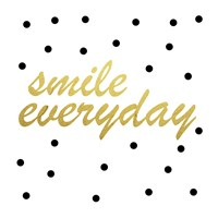 Smile Everyday Framed Print