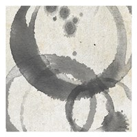 Square Coffee Stains 2 Fine Art Print