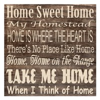 Home Sweet Home 3 Fine Art Print