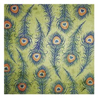 Peacock Pattern 1 Fine Art Print
