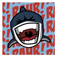 Rahr! Shark Fine Art Print