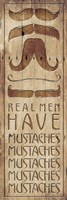 Real Men Fine Art Print