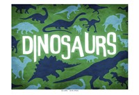 Dinosaurs Two Fine Art Print