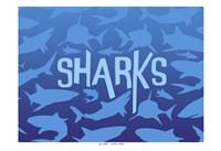 Sharks Fine Art Print