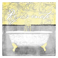 Yellow Rejuvenate Fine Art Print