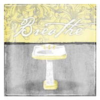 Yellow Breathe Fine Art Print