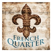 French Quarters Fine Art Print