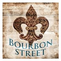 Bourbon Street Fine Art Print