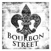 Bourbon Street BW Fine Art Print