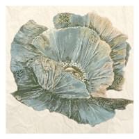 Sapphire Bloom 2 Fine Art Print