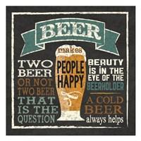 Beer Humor Fine Art Print