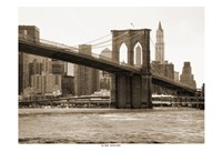Brooklyn Bridge 47 II Framed Print