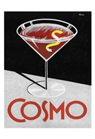 Retro Cosmo Time Fine Art Print