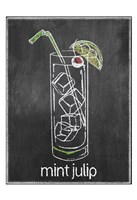 Mint Julip Chalk Fine Art Print