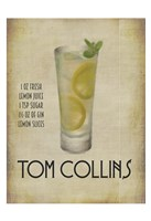 Tom Collins Framed Print