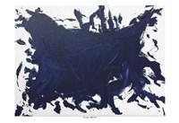Indigo Blue Trend 2 Fine Art Print