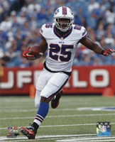 LeSean McCoy 2015 Action Fine Art Print