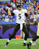 Joe Flacco 2015 Action Fine Art Print