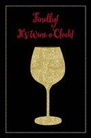 Wine O Clock Fine Art Print