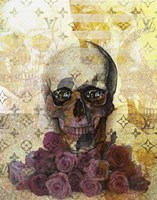 Skulls And Diamonds Fine Art Print
