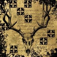 B&G Deer Skull Fine Art Print