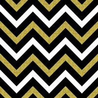 Bling Chevron Fine Art Print