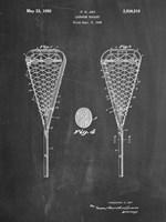 Lacrosse Stick Fine Art Print