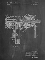 Mac 10 Gun Fine Art Print