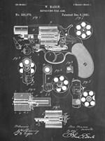 Revolver Framed Print
