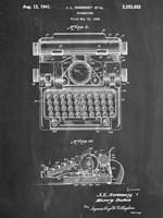 Typewriter CH Fine Art Print