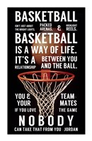 Basketball is a Way of Life Framed Print