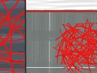 Organized Chaos 3 Framed Print