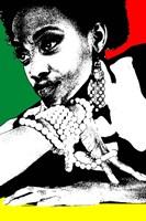 Aisha Jamaica Framed Print