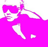 Niki Pink Framed Print