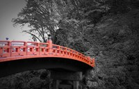 Nikko Red Bridge Fine Art Print